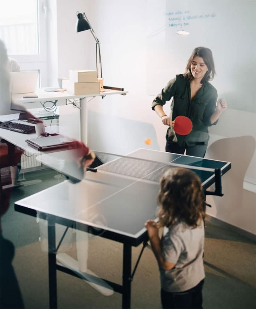 mid size ping pong tables
