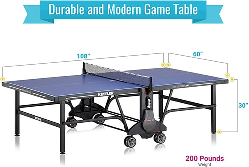 kettler table tennis