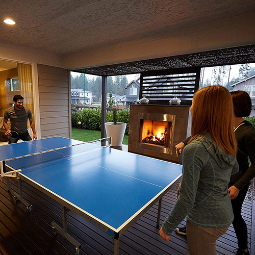 how big is a ping pong table