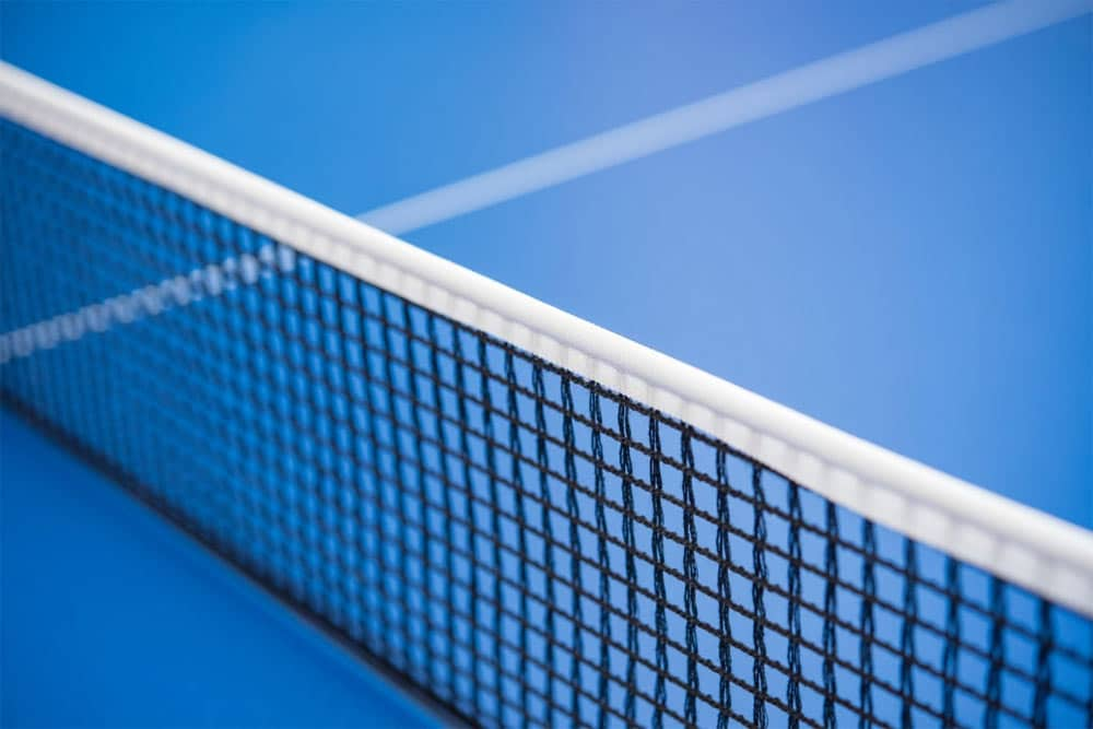 ping pong net rules