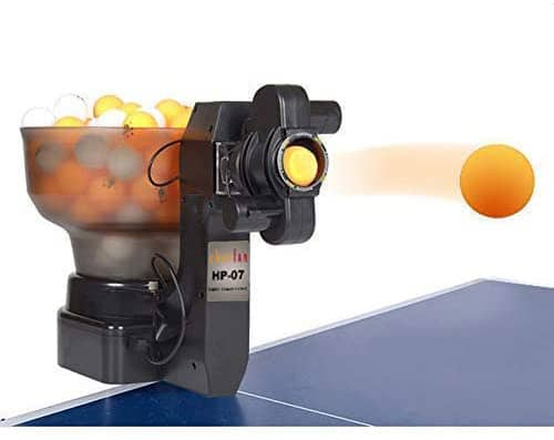 zxmoto table tennis robot with catch net automatic ping pong robot machine for training